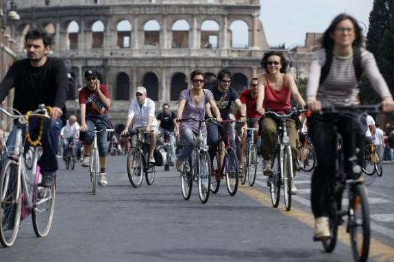 fahrrad leihen in rom